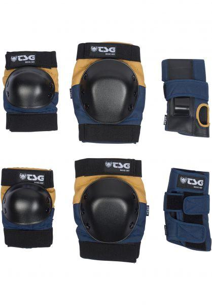 TSG Schoner-Sets Basic Protection Set nightblue-duskyellow Vorderansicht
