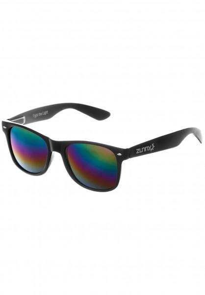 Zunny Sonnenbrillen Standard black-black-multi Vorderansicht
