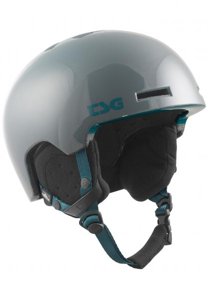 TSG Snowboardhelme Vertice Solid Color gloss curb grey vorderansicht 0223014