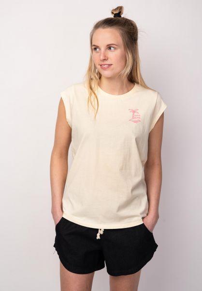 TITUS T-Shirts Aloha Island yellow vorderansicht 0398494