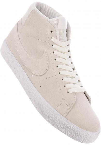 Nike SB Zoom Blazer Mid Deconstructed Chaussure - summit white glCCzj06o