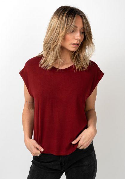 Forvert T-Shirts Ava darkred vorderansicht 0320113