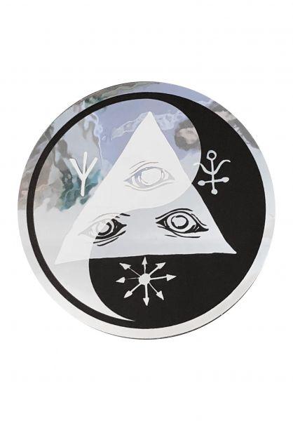 """Welcome Verschiedenes Balance 3"""" Sticker black-white vorderansicht 0972217"""