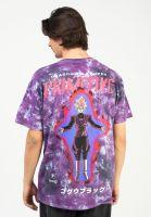 primitive-skateboards-t-shirts-goku-black-rose-washed-purple-vorderansicht-0323956