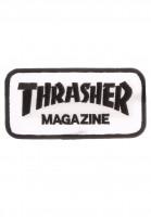 Thrasher-Verschiedenes-Logo-Patch-white-Vorderansicht