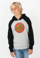 santa-cruz-hoodies-youth-classic-dot-raglan-black-heathergrey-vorderansicht-0446049