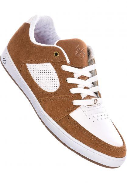 ES Alle Schuhe Accel Slim Depot 2020 brown-white vorderansicht 0604839