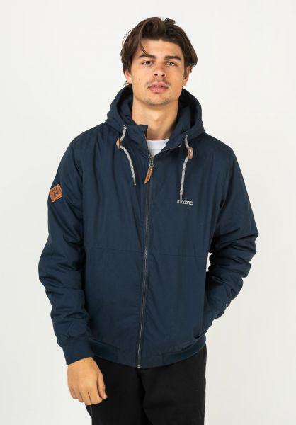 Mazine Winterjacken Campus Jacket navy vorderansicht 0250308