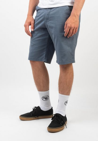 Reell Chinoshorts Flex Grip Chino greyblue vorderansicht 0551671