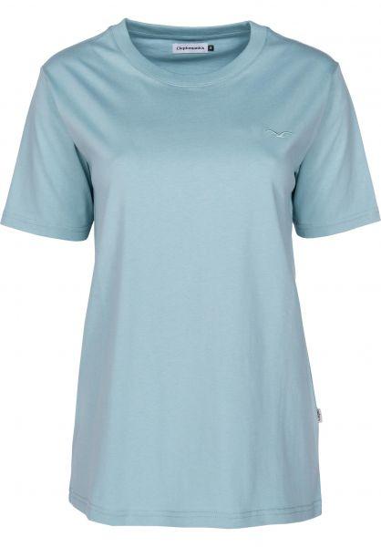 Cleptomanicx T-Shirts Ligull aquifer Vorderansicht 0369030
