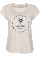 Forvert-T-Shirts-Clarkia-beige-Vorderansicht