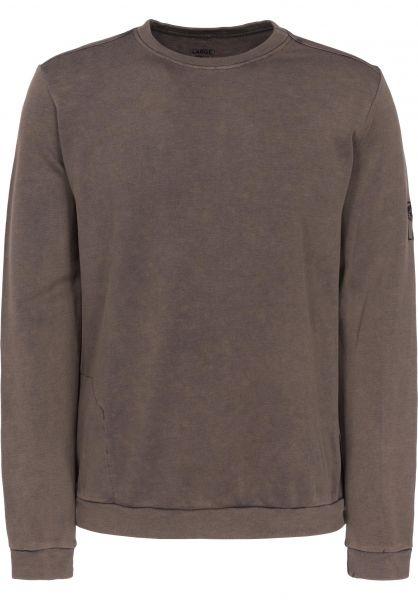 Mahagony Sweatshirts und Pullover Fade brownstone Vorderansicht