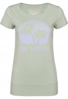 Rules T-Shirts Palm Girls frostgreen Vorderansicht