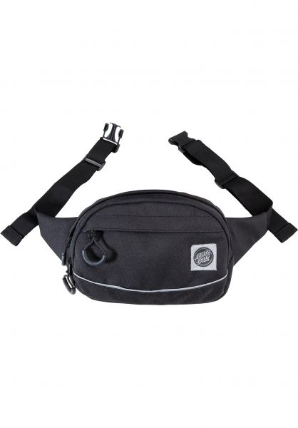 Santa-Cruz Hip-Bags Pusher Waist Pack black vorderansicht 0169104