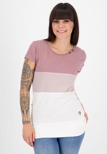 alife and kickin T-Shirts Clea plum 121 vorderansicht 0399153