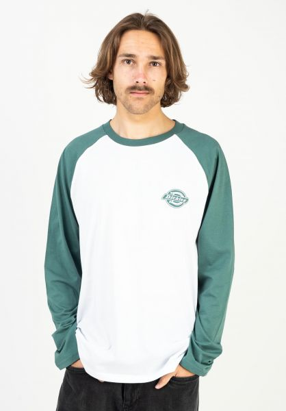 Dickies Longsleeves Cologne lincolngreen vorderansicht 0383940