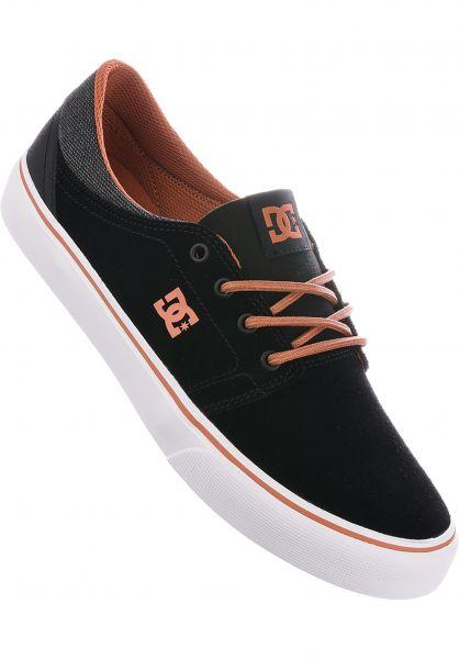 DC Shoes Alle Schuhe Trase SE black-camel Vorderansicht