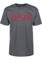 Captain-Fin-T-Shirts-Naval-Captain-Standard-charcoal-Vorderansicht