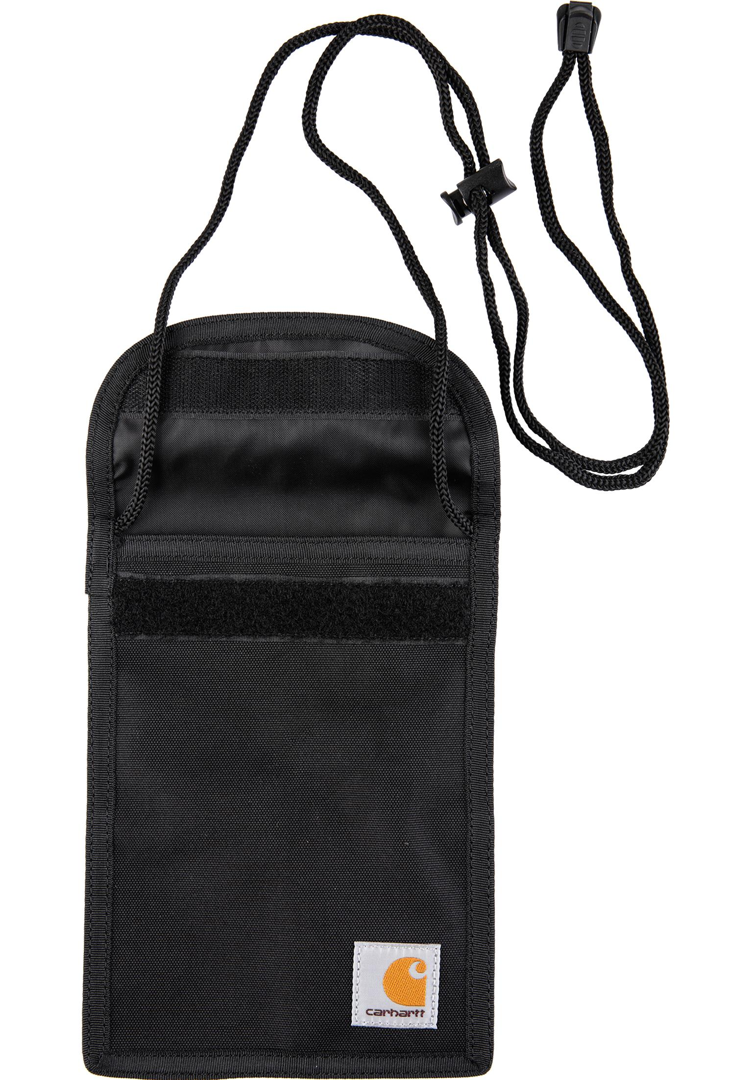 b4bc91d05d Collins Neck Pouch Carhartt WIP Wallets in black for Men | Titus