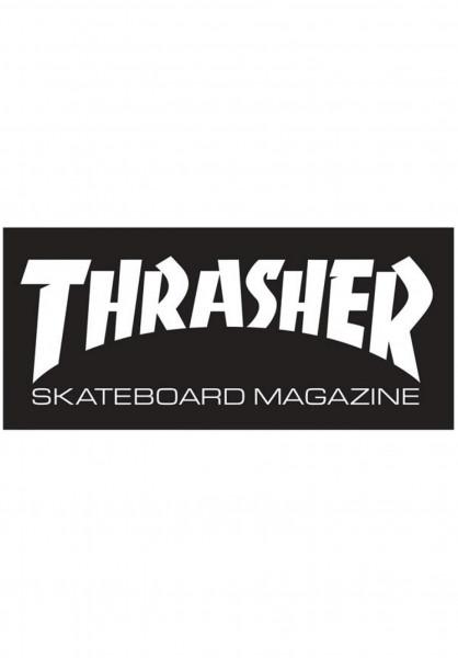 Thrasher Verschiedenes Skate Mag Standard Sticker black Vorderansicht
