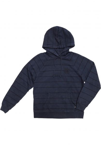 Dark Seas Hoodies Avalon navy Vorderansicht