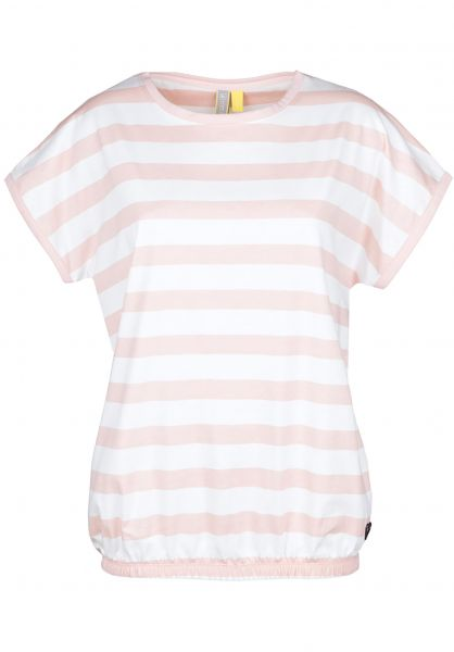 alife and kickin T-Shirts Sun candy-stripes vorderansicht 0399919