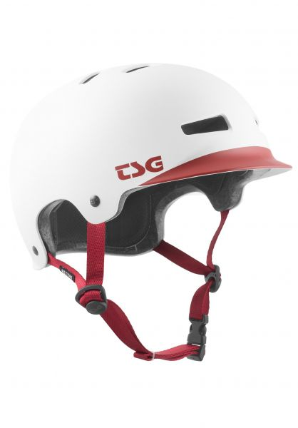 TSG Helme Recon Graphic Design cap white vorderansicht 0750144