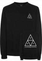 HUF Sweatshirts und Pullover Triple Triangle black-white Vorderansicht