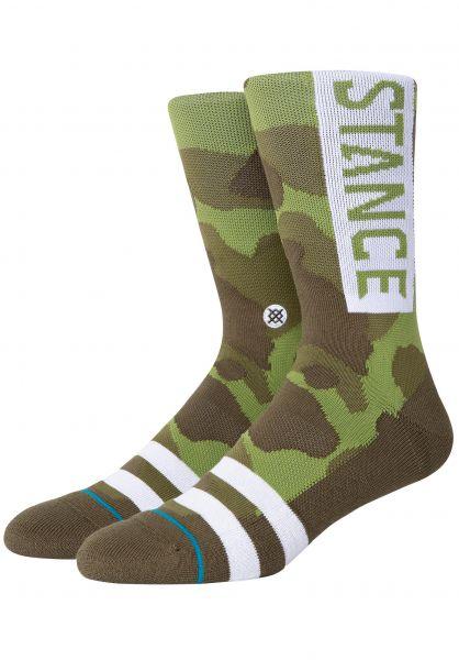 Stance Socken OG camouflage vorderansicht 0631580