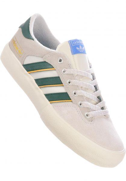 adidas-skateboarding Alle Schuhe Matchbreak Super creamywhite-coregreen-yellow vorderansicht 0604762