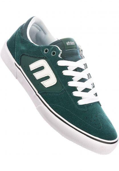 etnies Alle Schuhe Windrow Vulc green-white-gum vorderansicht 0604950