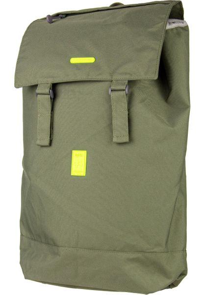 Lefrik Rucksäcke Flap Backpack olive vorderansicht 0880951