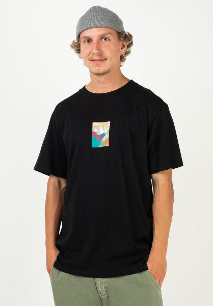 TITUS T-Shirts Iwan black vorderansicht 0320928