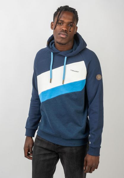 Ragwear Hoodies Tricole Sweat blue vorderansicht 0445485