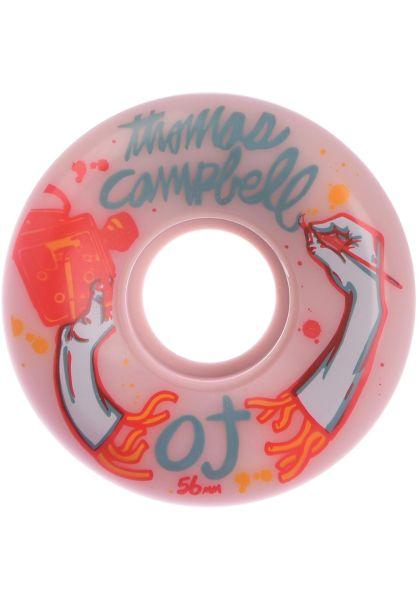 OJ Wheels Rollen Thomas Campbell Keyframe 87a pink vorderansicht 0134411