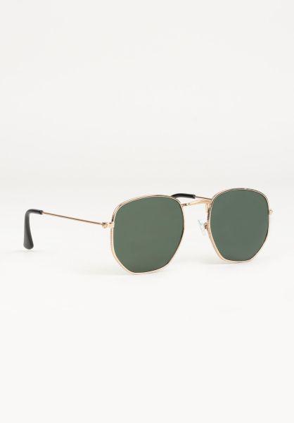 CHPO Sonnenbrillen Ian gold-green vorderansicht 0590627