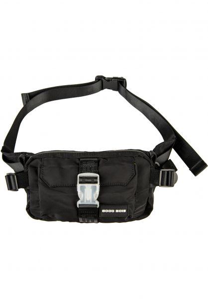 Goodbois Hip-Bags Euro Tech Waist Bag black vorderansicht 0169137
