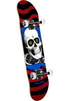 Powell-Peralta Skateboard komplett Ripper Mini one off-red Vorderansicht