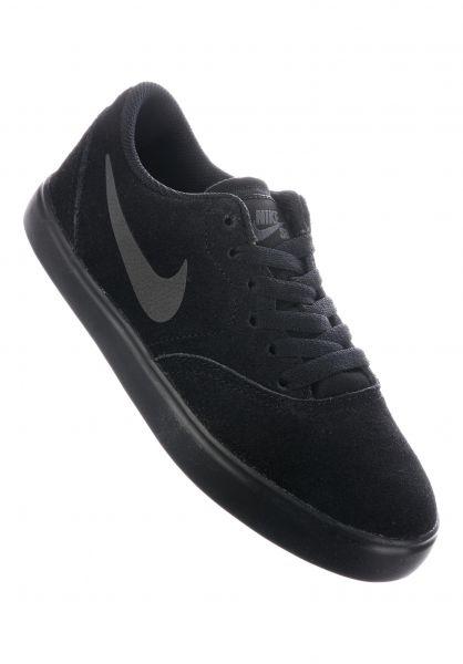 Nike SB Alle Schuhe Check GS black-black-anthracite Vorderansicht