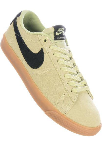 Nike SB Alle Schuhe Blazer Low GT oliveaura-black vorderansicht 0603696