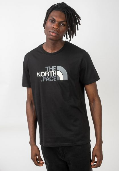 The North Face T-Shirts Easy black vorderansicht 0320627
