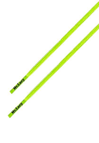 Mr. Lacy Schnürsenkel Runnies Round neonlime-yellow vorderansicht 0640032