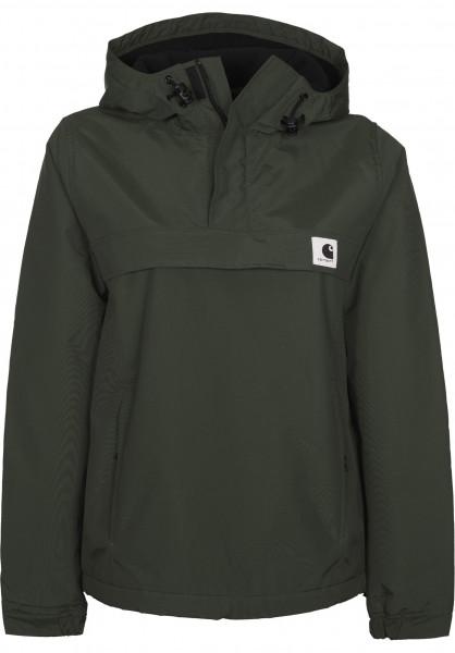 Carhartt WIP Winterjacken W´Nimbus Pullover cypress Vorderansicht