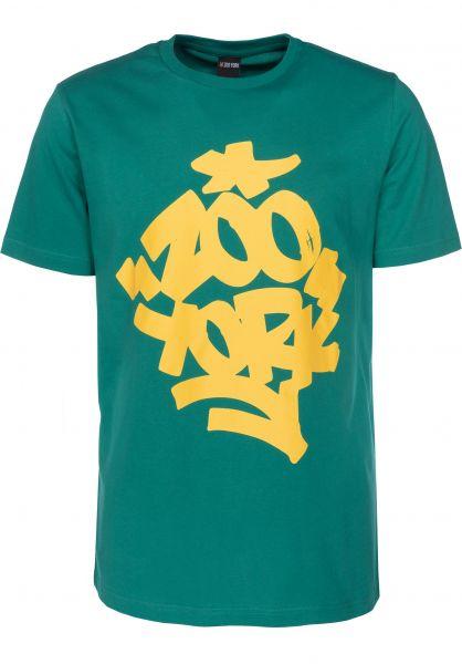 Zoo York T-Shirts Fat 'N' Juicy huntergreen Vorderansicht