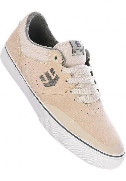 etnies Alle Schuhe Marana Vulc white-grey-gum vorderansicht 0603537
