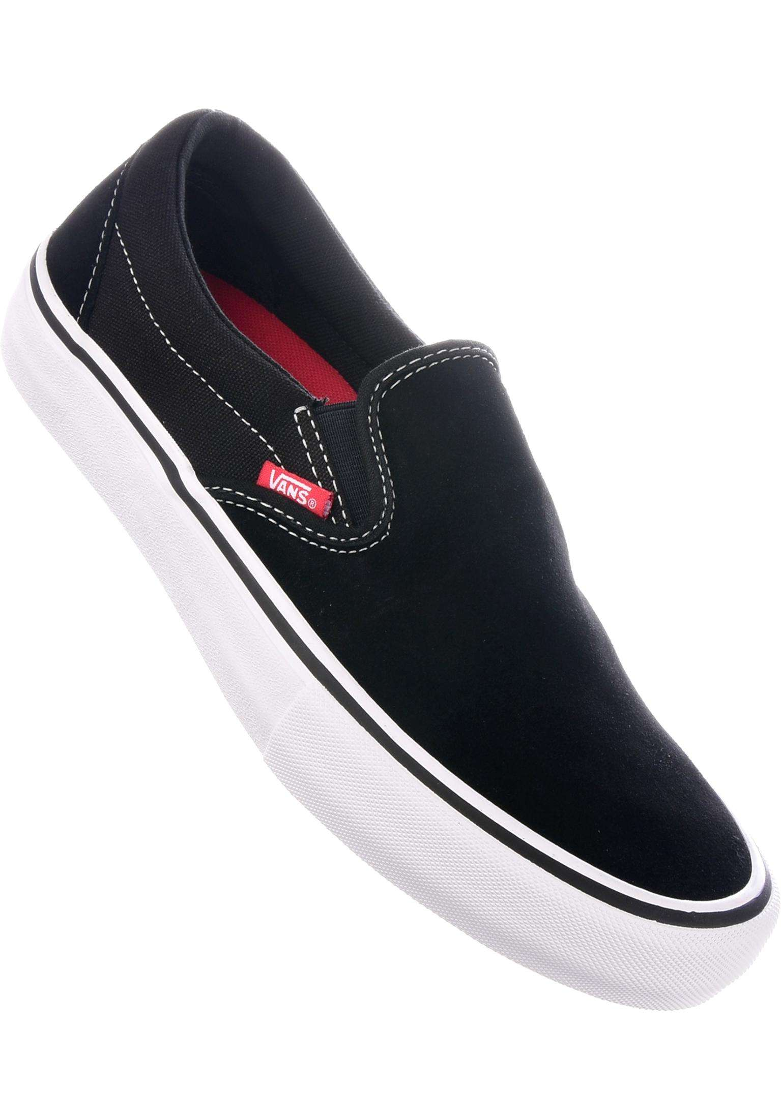 92828b42bb Slip-On Pro Vans All Shoes in black-white-gum for Men