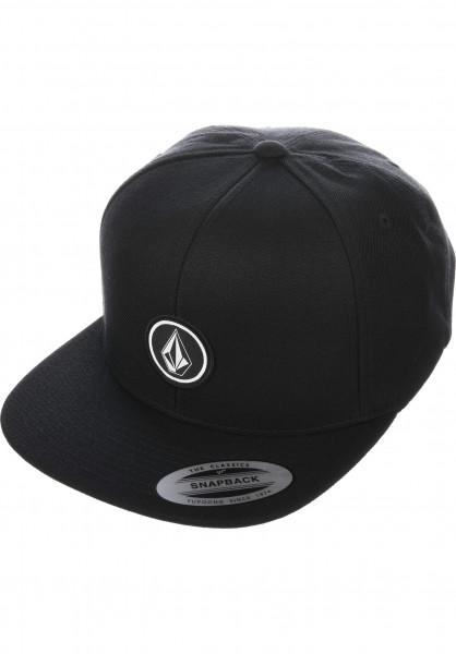 Volcom Caps Quarter Twill black Vorderansicht