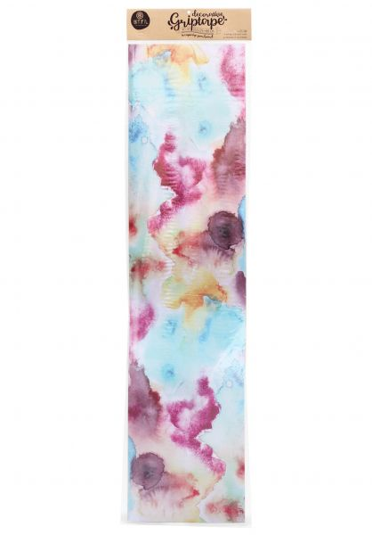BTFL Longboards Griptape Sprayed tie-dye vorderansicht 0142535