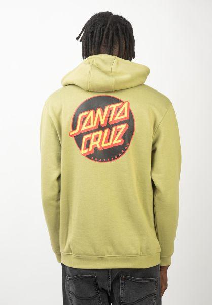 Santa-Cruz Hoodies Other Dot sage vorderansicht 0445471