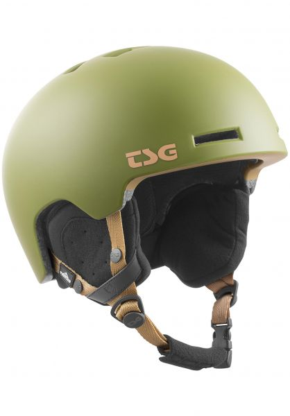 TSG Snowboardhelme Vertice Solid Color satin olive vorderansicht 0223014